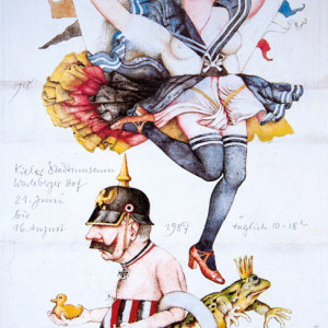 Denkmalerei - Plakat, Offsetdruck, 1986