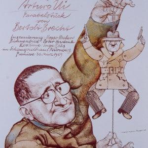 Der aufhaltsame Aufstieg des Arturo Ui - Plakat, 1969