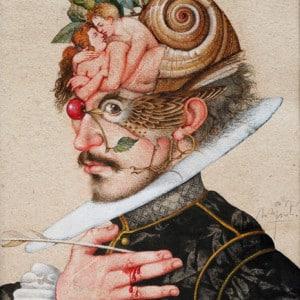 Shakespeare - Federzeichnung, vor 2001
