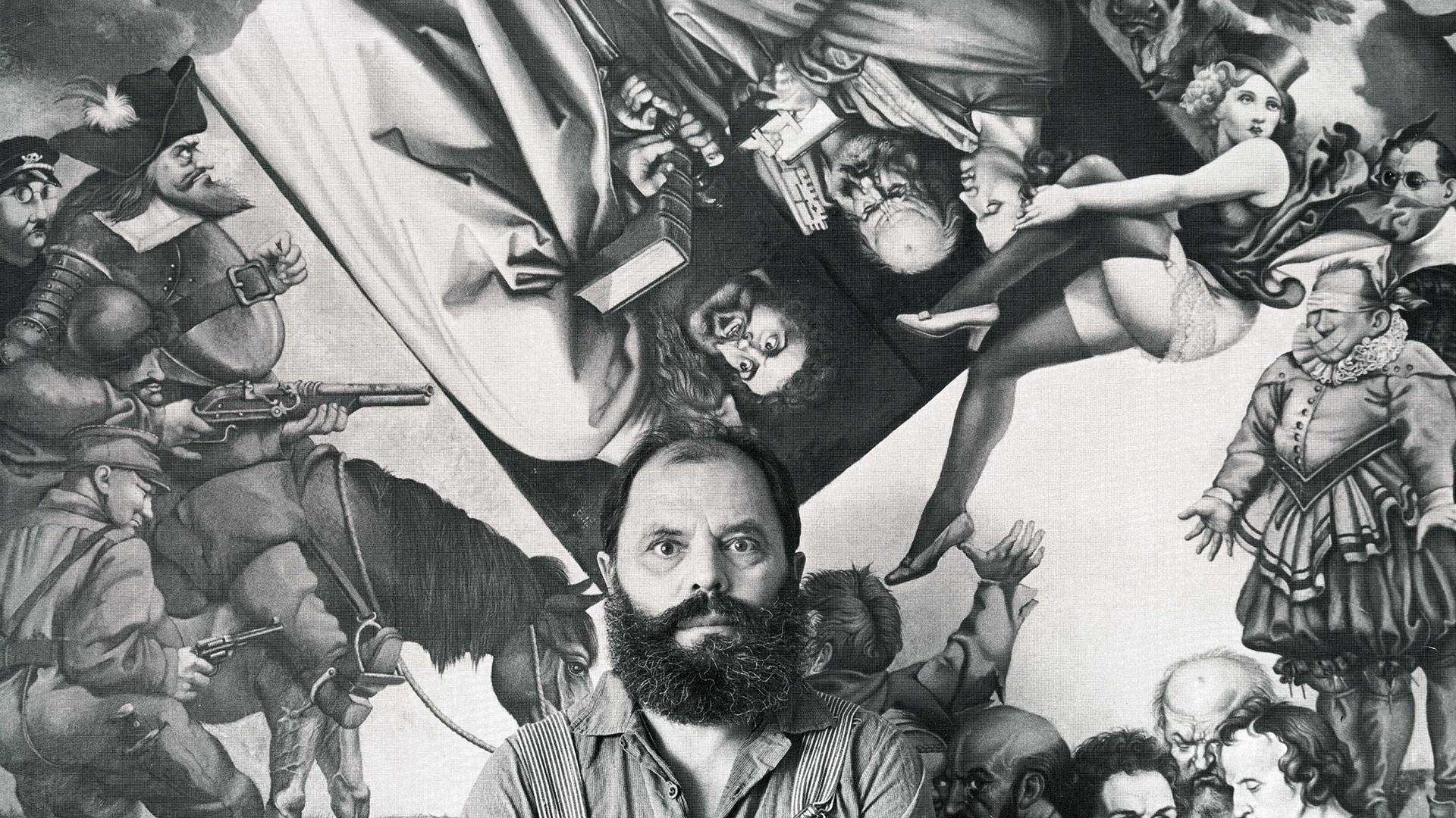 """""""Prechtl ist ein einzigartiger Künstler. Er zeichnet sich aus durch den Blick."""""""
